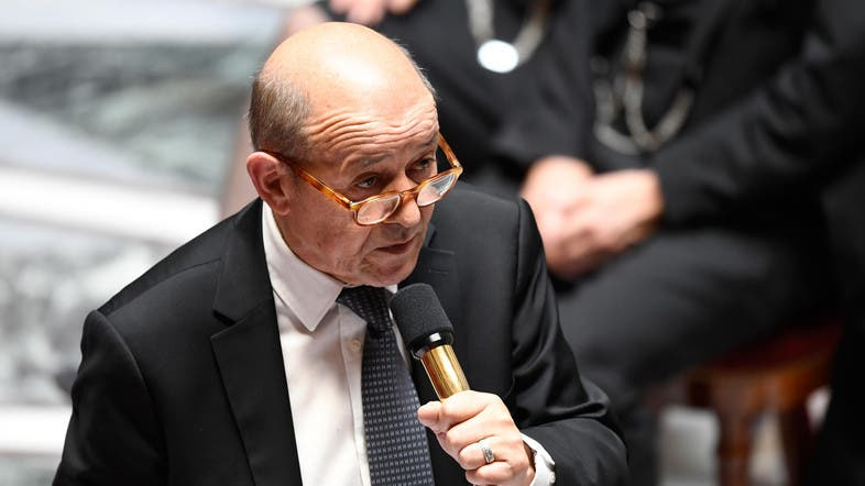 Le Drian did not say when he would head to Iraq, which has sentenced hundreds of ISIS insurgents, including foreigners, caught in Syria to death or life in prison. (File photo: AFP)