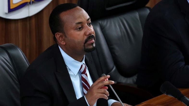 Ethiopia's Prime Minister Abiy Ahmed speaks during a session with the Members of the Parliament in Addis Ababa, Ethiopia, October 22, 2019. (File photo: Reuters)