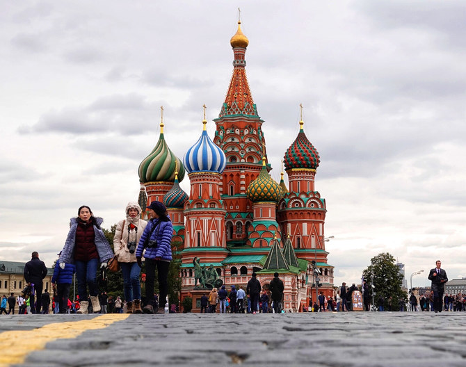 Russia witnessed a 10 percent increase in international tourists in 2018. (AN photo by Huda Bashatah)