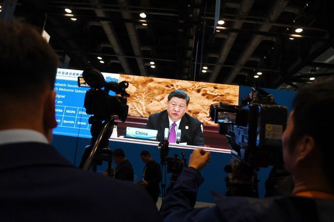 The New York-based Committee to Protect Journalists it counted at least 48 journalists jailed in China as President Xi Jinping ramps up efforts to control the media. (AFP)