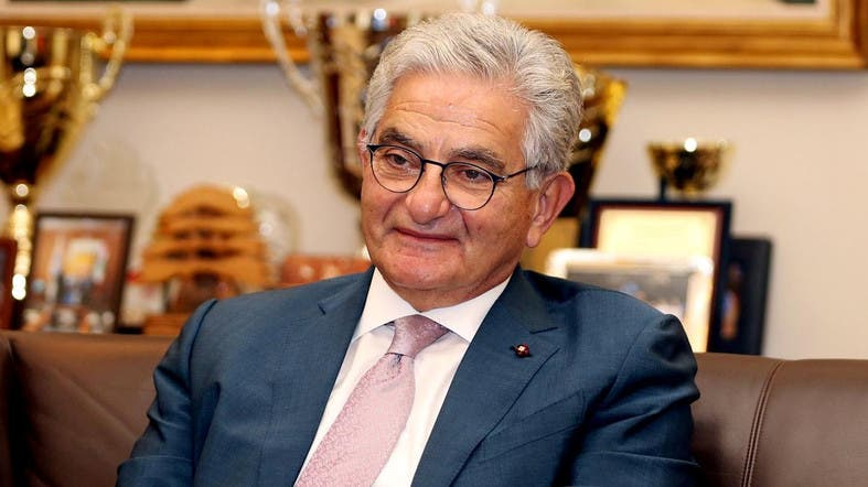 Salim Sfeir, chairman of the Association of Banks in Lebanon and chief executive of Bank of Beirut, is pictured during an interview with Reuters in Beirut, Lebanon. (File photo: Reuters)