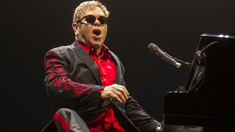 While Broadway is notoriously tough terrain even for famous names, Elton John has a proven record of triumph with musicals. (File photo: AFP)