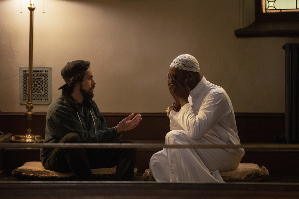 Youssef dug deeper into his Muslim faith, introducing a charismatic new Imam named Sheik Ali, played by Oscar-winner Mahershala Ali, with whom Ramy quickly bonds. (Supplied)