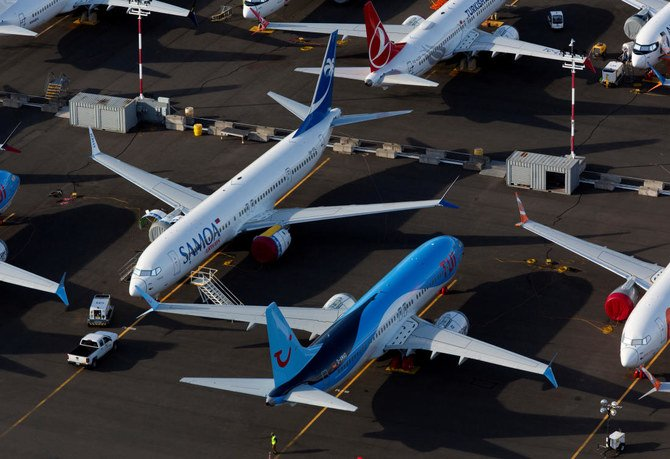 The grounding of the fast-selling 737 MAX aircraft in March 2019 triggered lawsuits and investigations. (Reuters)