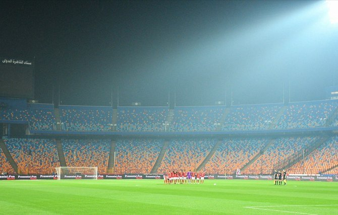 Egyptian football is all too familiar with empty stands after a blanket ban on fans attending. (File/AFP)