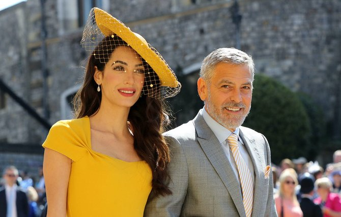 Amal Clooney is a Lebanese-British human rights lawyer. (AFP)