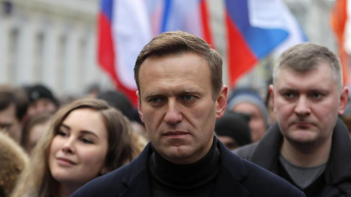 Russian opposition leader and anti-corruption activist Alexei Navalny (