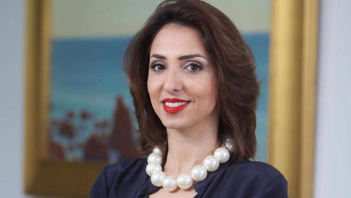 Hala Khayat is the new regional director for Art Dubai. Courtesy Christie's Images