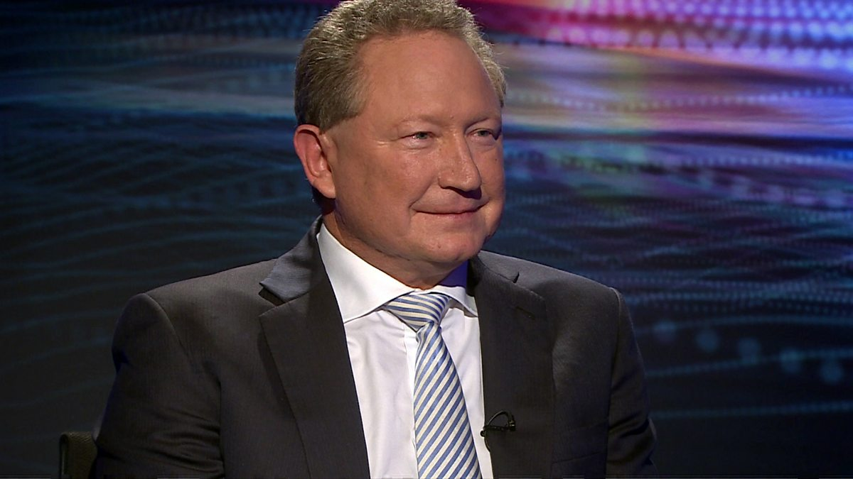 Andrew Forrest, chairman of Fortescue Metals Group,